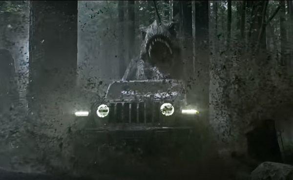 暴龍來襲~快跑!! Jeep Wrangler廣告找來當年的暴龍與伊恩·馬爾科姆博士再次相遇「侏儸紀公園」