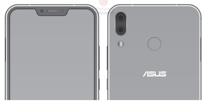 華碩 ZenFone 5 造型曝光:也有瀏海造型?