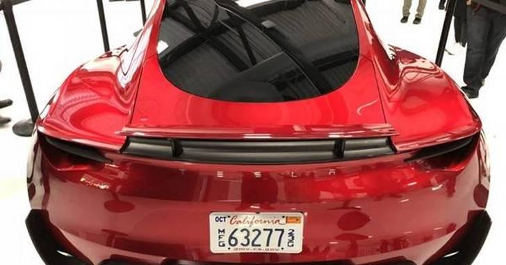 特斯拉史上最快車型 新一代超跑Roadster 2正式亮相