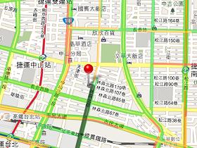 Google Maps 即時路況,看圖躲塞車