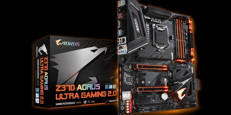 增加處理器電源轉換相位與 M.2 散熱片,GIGABYTE Z370 AORUS Ultra Gaming 2.0 改款更吸睛