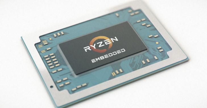 Zen 微架構觸角再次延伸,AMD 推出 EPYC Embedded 3000 與 Ryzen Embedded V1000 系列