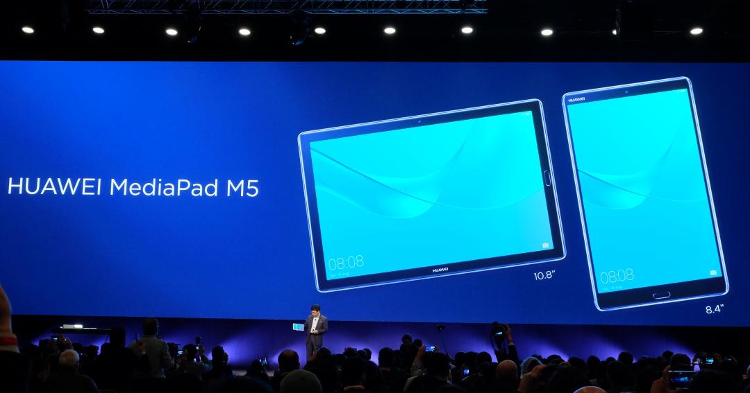 華為新 MediaPad M5 登場,10.8 吋 / 8.4 吋雙版本、可一秒變筆電