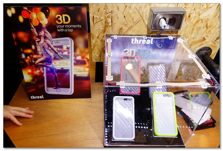 3D手機新視界-特亞科技Threal 3D拍照手機殼