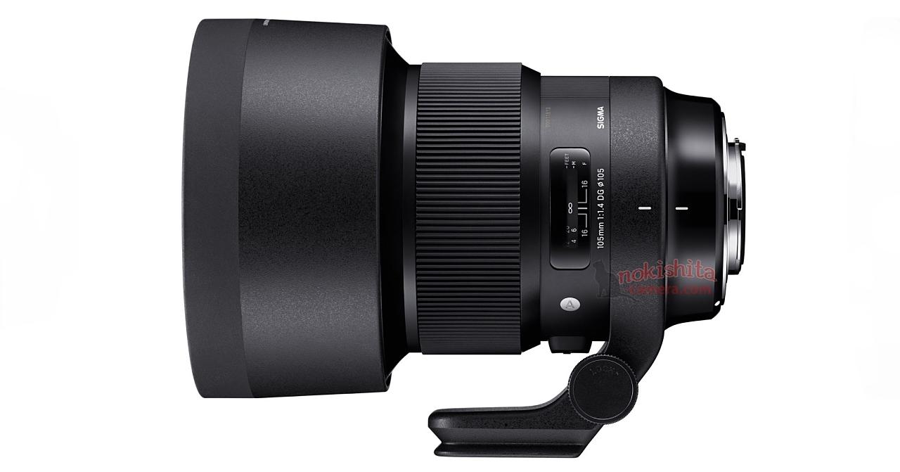 Sigma 巨無霸怪鏡再一發,預計推出內建腳架環的 105mm F1.4 ART 超大光圈定焦鏡
