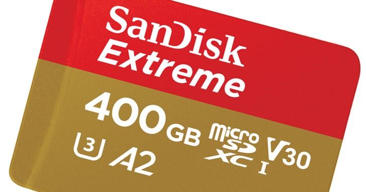 不只大,更要快!SanDisk 發表世界最快的 400GB microSD 記憶卡