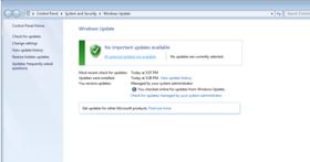 就算你的Windows 7是正版,如果沒有安裝防毒軟體、今年開始將不再會收到任何官方更新
