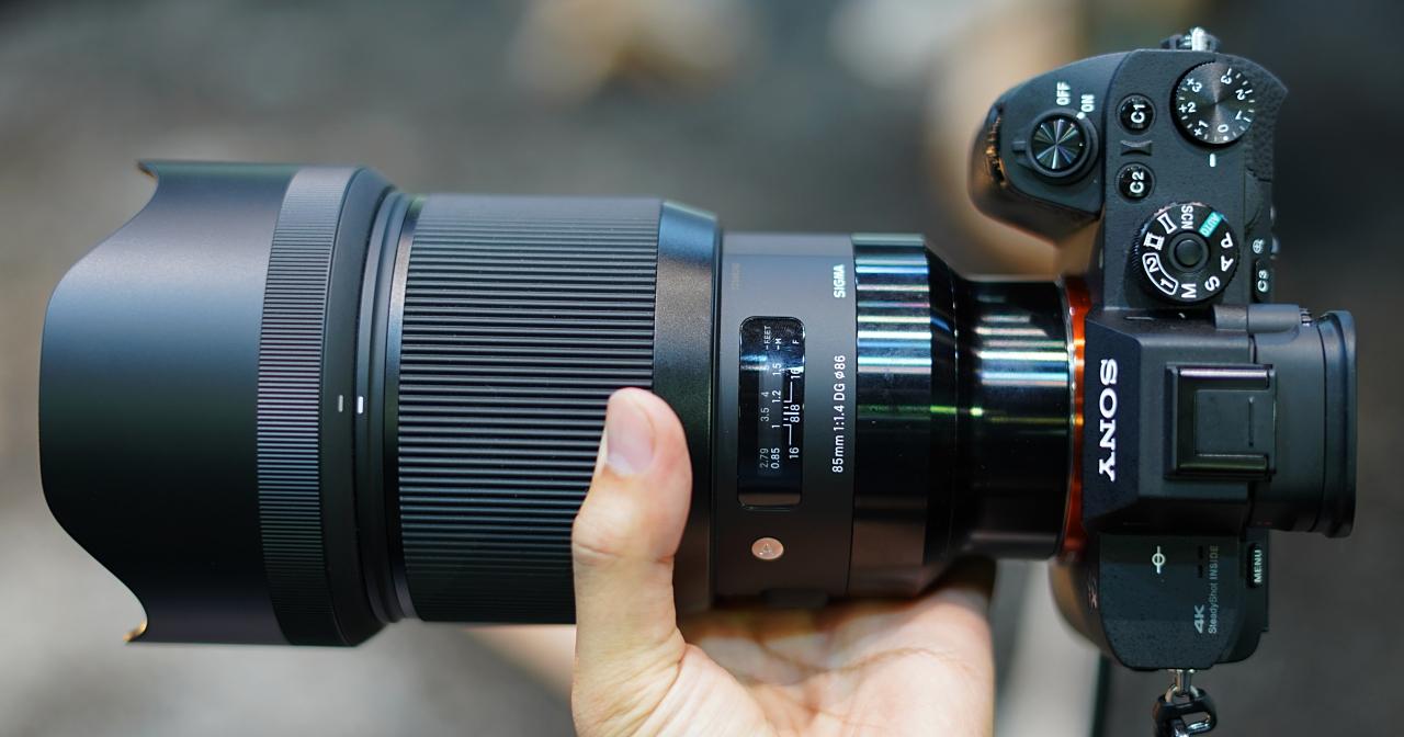 比你想像的還要巨大!Sigma Sony FE 接環鏡頭現場動手玩
