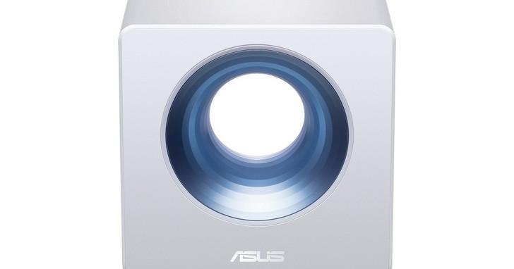 華碩推出全新智慧家庭雙頻無線路由器—ASUS Blue Cave