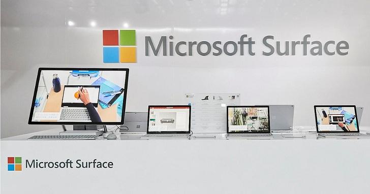 微軟 Surface 系列全數登台,14.4 萬的 Surface Studio 於快閃店先體驗