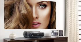 Epson 雷射電視 EH-LS100 動手玩:僅需 24.4cm 即可投射百吋畫面!