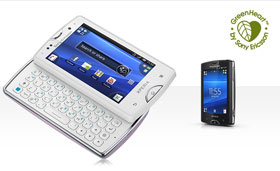 Sony Ericsson XPERIA mini、mini pro 雙機發表