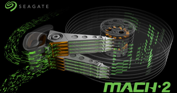 Seagate 多讀寫臂 MACH.2 硬碟達 480MB/s!HAMR 可靠性也超前 20 倍