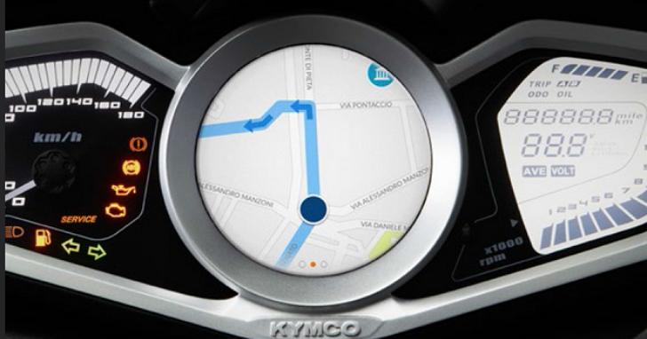KYMCO發表「Noodoe Navigation」  車聯網導航功能,表示是真正針對騎士設計的導航系統
