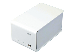 Asus NAS-M25,綁軟體的備份專用機