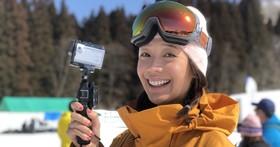 越後湯澤滑雪之旅,運動名模王心恬的 Sony ActionCam FDR-X3000R 體驗心得
