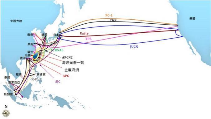 僅一條海底電纜中斷 竟讓這國家兩天無法上網