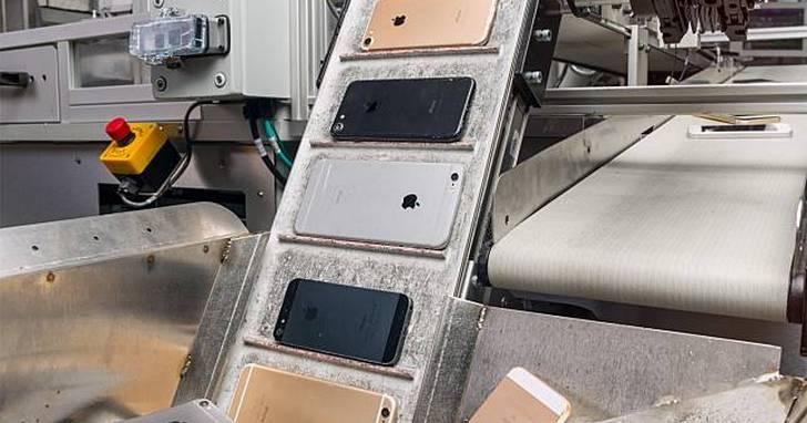 一小時銷毀200台手機,蘋果最新iPhone拆解機器人亮相