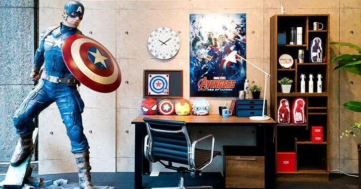 漫威和日本家具品牌推出聯名系列,超級英雄鎮宅是是什麼體驗?