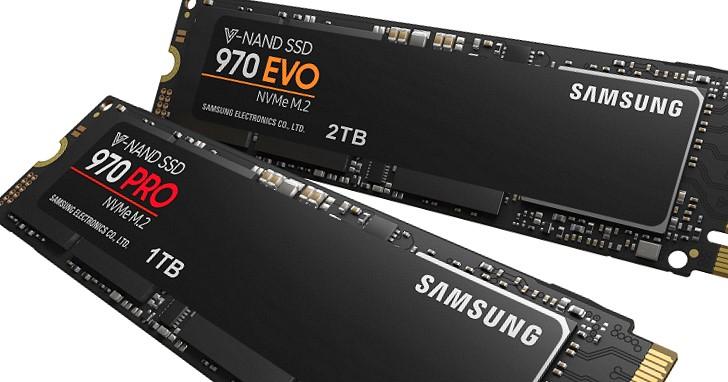 Samsung SSD 960 PRO 王者寶座換人坐,後起之秀 970 PRO 寫入速度達 2700MB/s