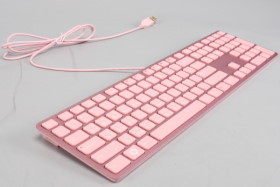 女生最愛, i-rocks 粉紅鍵盤鋁合金進化版 KR-6402