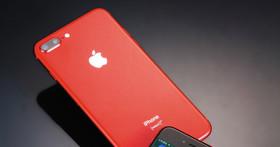Apple iPhone 8 / 8 Plus(PRODUCT)RED- 紅色特別版,加入對抗愛滋病計畫