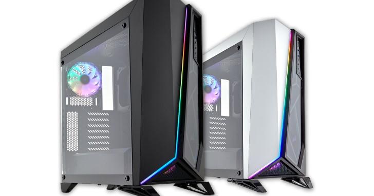 終將加入 RGB 燈光效果行列,Corsair Carbide SPEC-OMEGA RGB 新增 LED 燈條與 RGB 風扇