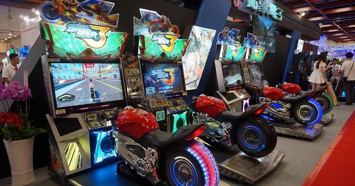 GTI台灣電子遊戲機國際產業展開幕,VR賽車、遠端夾娃娃機超吸睛