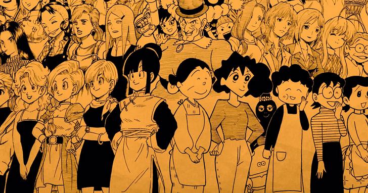 日本網友將這些漫畫媽媽們齊聚一堂,看看你認識幾位?