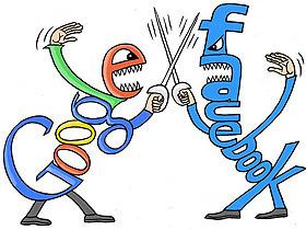 Facebook 大戰 Google ,你挺誰?