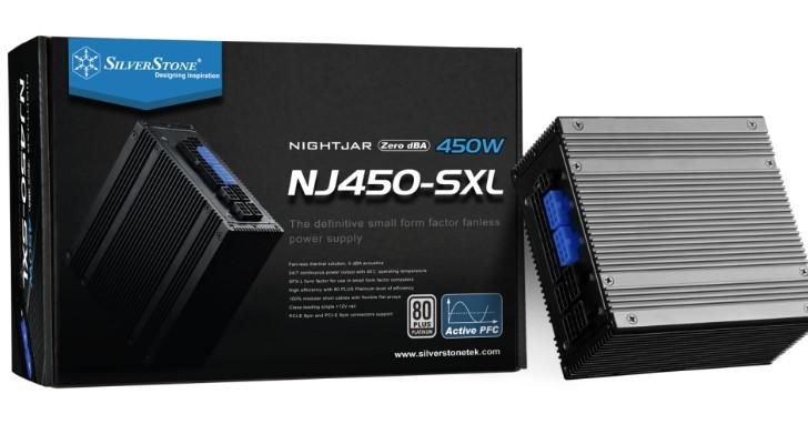 SFX-L 小型電源供應器無風扇設計!SilverStone 推出 Nightjar NJ450-SXL
