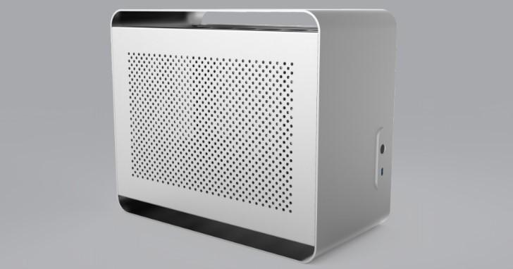 極簡卻又保持零組件安裝彈性,Streacom 發表 SFF 小型電腦規格 DA2 鋁製機殼