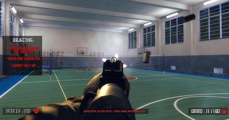 以校園為舞台的槍戰遊戲《Active Shooter》被要求禁售,難道一切都是射擊遊戲的錯?