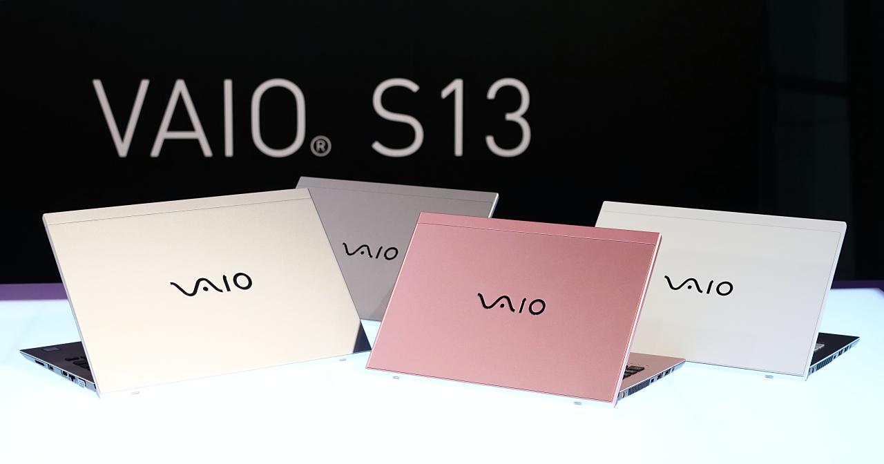 VAIO S13 及 S11 在 Computex  2018 亮相,預告 7 月登台銷售