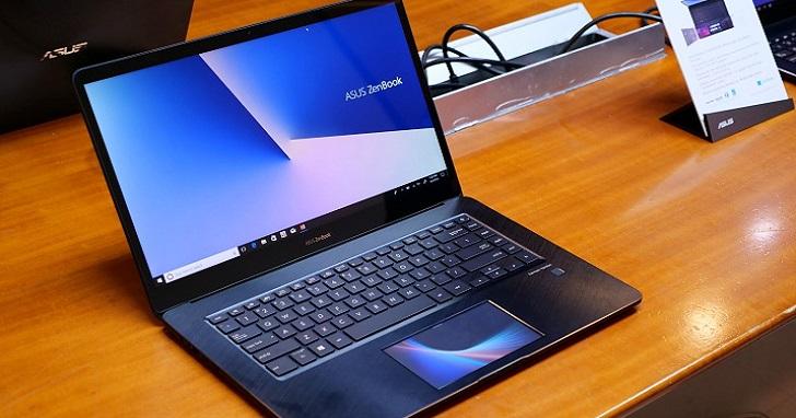 Asus 推出雙螢幕筆電 ZenBook Pro,觸控板「ScreenPad」變成你的第二個螢幕 | T客邦