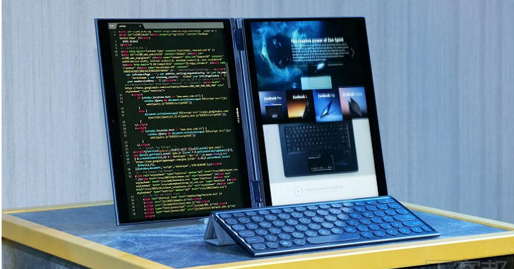 Asus 展出 Project Precog 概念筆電,雙「全」螢幕、導入 AI 技術 重新定義你沒見過的筆電 | T客邦
