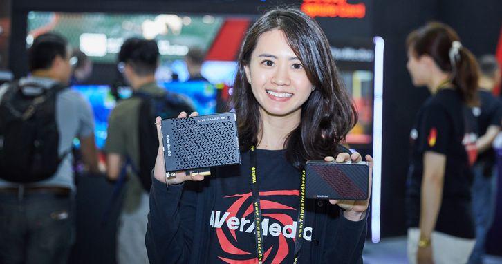圓剛科技於 Computex 2018 展出全球首張 4K HDR 遊戲影像擷取卡,提供 4K 遊戲完整擷取方案