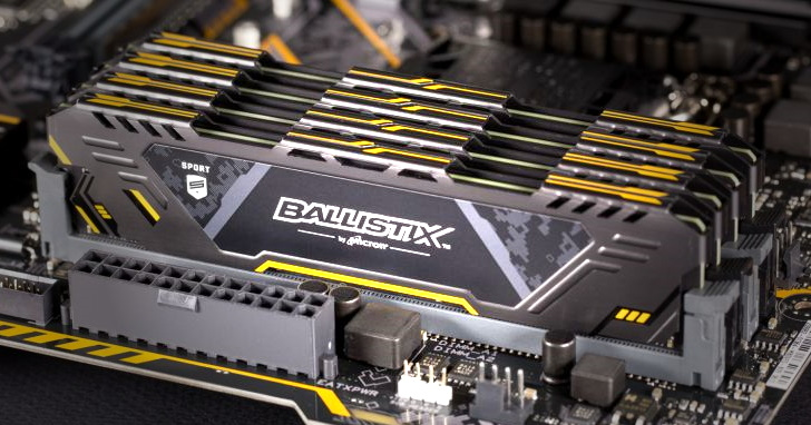Micron 加入 Asus TUF Gaming Alliance,推出迷彩風格 Ballistix Sport AT 記憶體模組