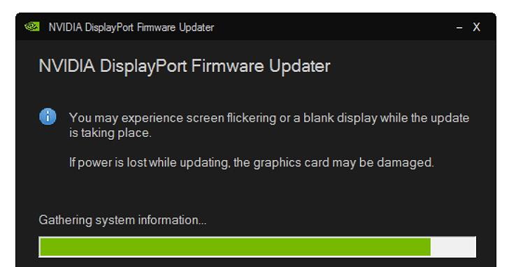 遇到 DisplayPort 1.3/1.4 顯示器問題?NVIDIA 提供韌體更新程式解決無畫面和當機狀況