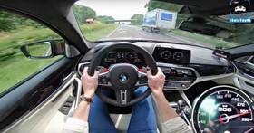 這心臟得夠大顆,BMW F90 M5 極速飆破「300km/h」德國無限速公路影片曝光!