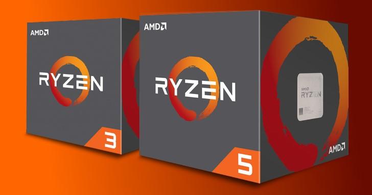 AMD 填補 Ryzen 2000 系列效能規格斷層、窺見 Ryzen 5 2500X 和 Ryzen 3 2300X