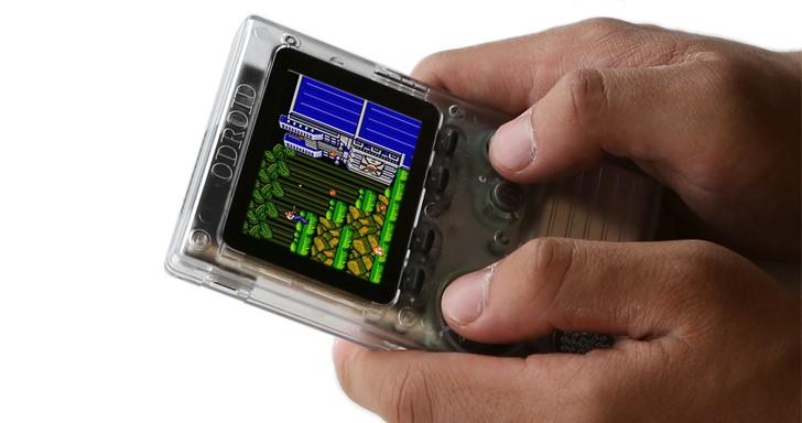 Odroid Go掌上型遊戲機套件,新台幣千元就能打包帶走