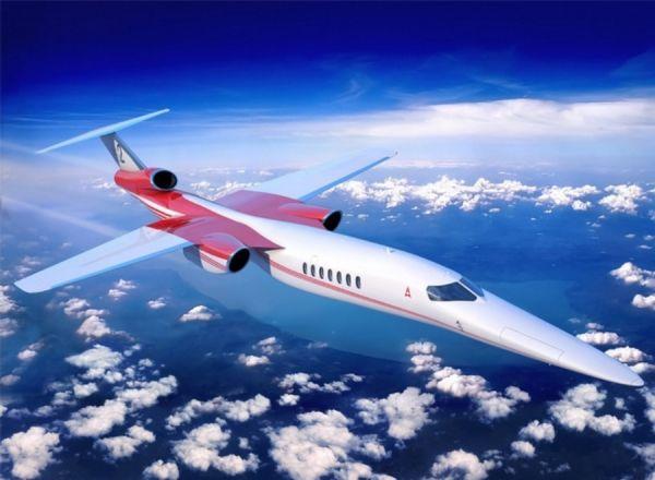 更快速的旅行!第一架 AS2 超音速商務噴射機將在2023年首航