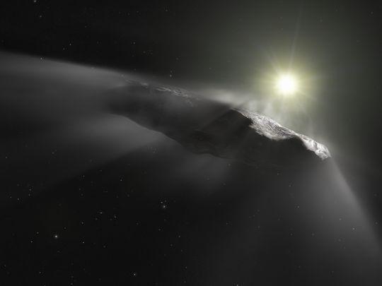 第一顆確認來自太陽系外的奇異訪客-Oumuamua 其實仍是一顆彗星
