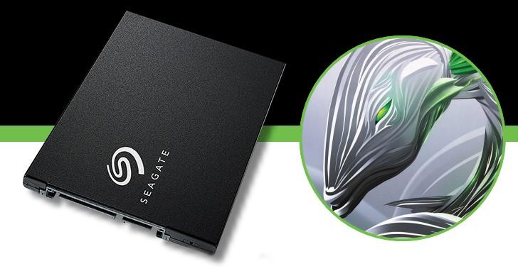 Seagate 消費級 SSD 回來啦!BarraCuda SSD 2.5 吋 SATA 6Gb/s,讀寫達 560MB/s 和 540MB/s