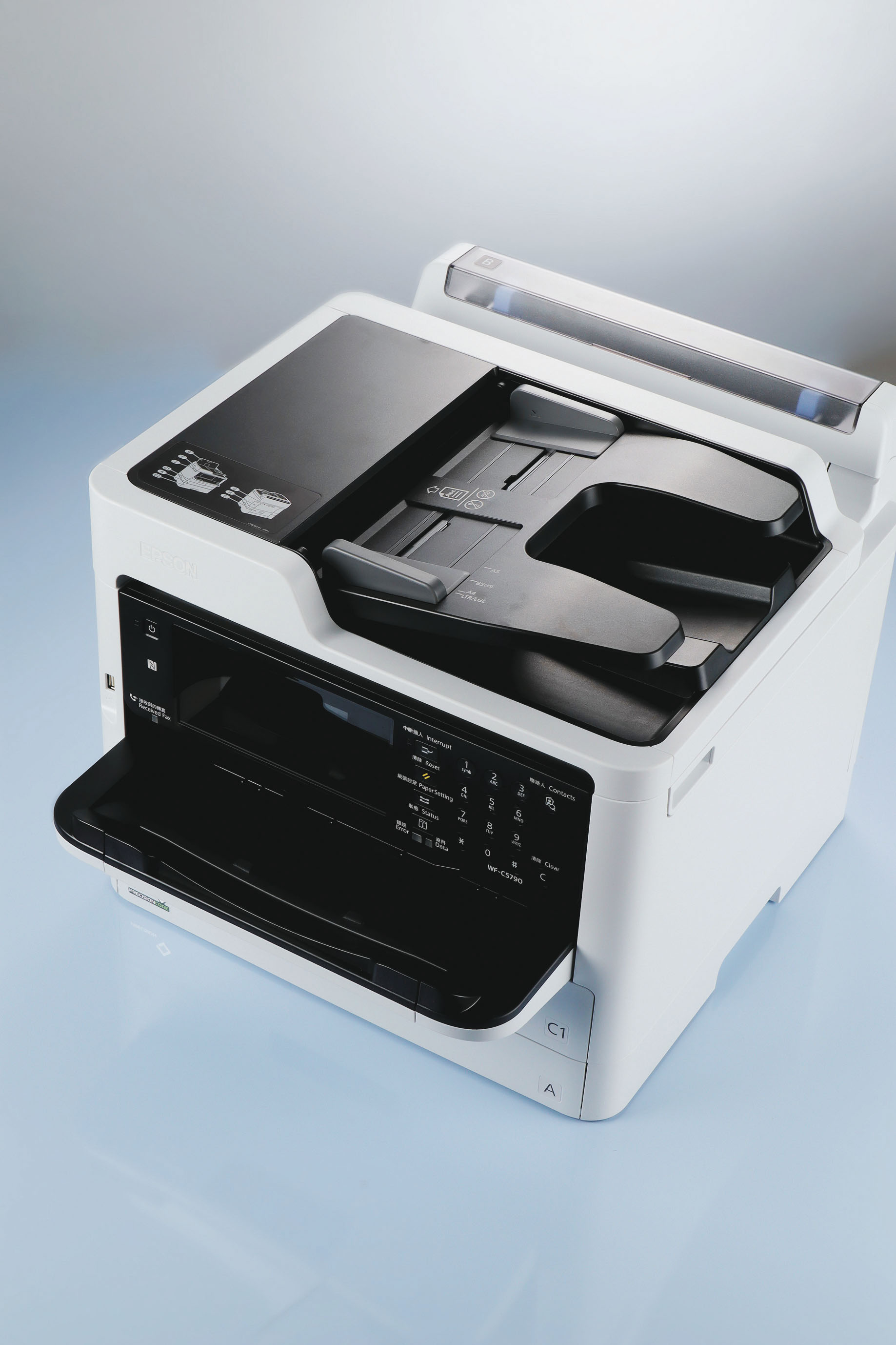 EPSON WorkForce Pro WF-C5790- 高速商用傳真噴墨複合機