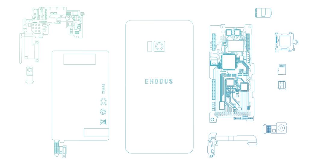 HTC 首款區塊鏈手機 EXODUS 開放登記,Q3 可搶先體驗