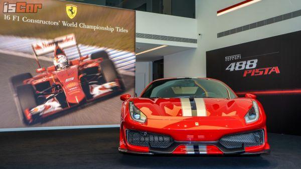 0~200km/h 加速只要 7.6 秒!最強 V8 烈馬 Ferrari 488 Pista 1,797.5 萬起正式降臨台灣!