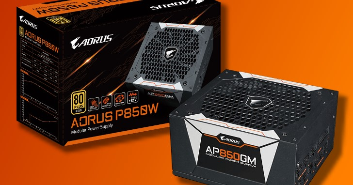重負載線材全面加上電容儲能濾波,GIGABYTE AORUS 推出首款電源供應器 P750/P850