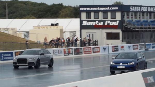 75歲頑童爆改600hp Golf R,零四加速上打Audi RS6!